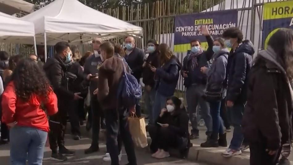 Paris irónico por falta de stock en la RM pero advierte con sumarios por mal uso de vacunas