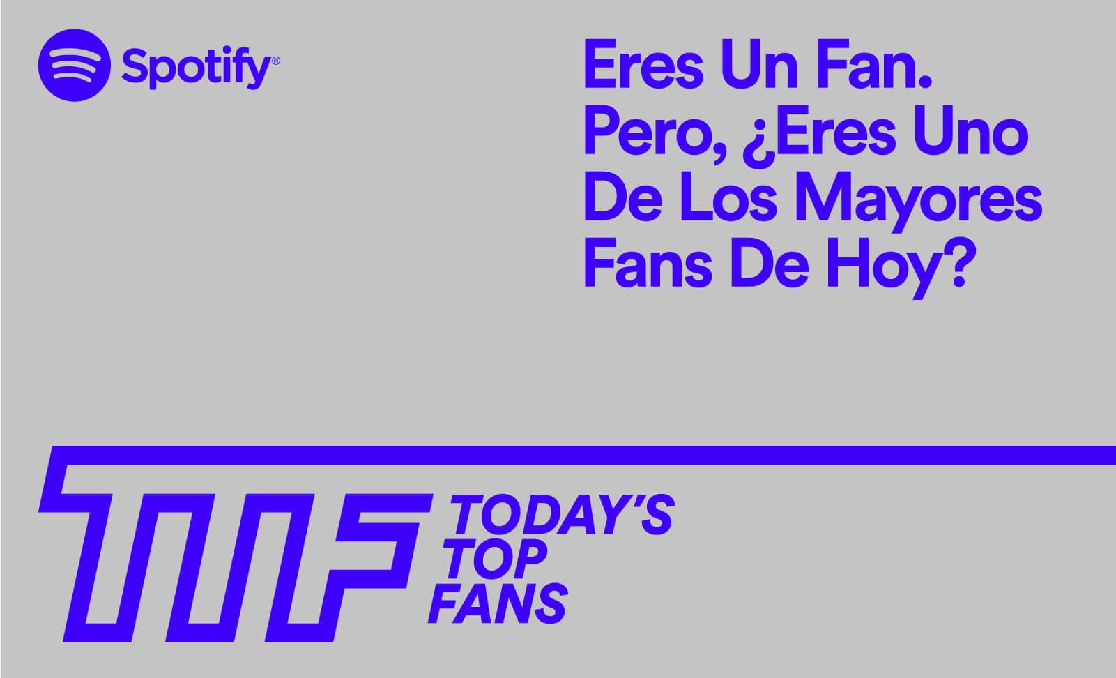 Today Top Fans de Spotify