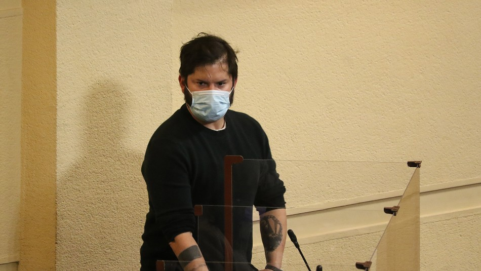 Gabriel Boric en Meganoticias: Apuntó que agresión sufrida en la cárcel se basa en una