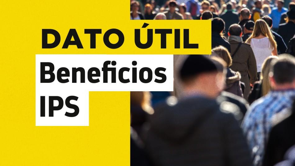 Beneficios IPS revisar con RUT fecha de pago