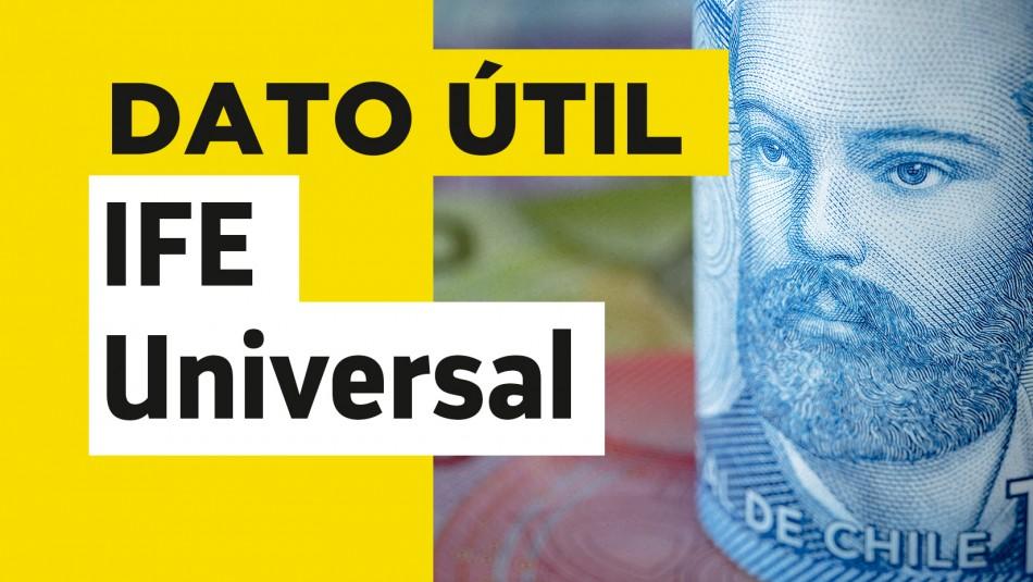 Fecha de pago IFE Universal de agosto