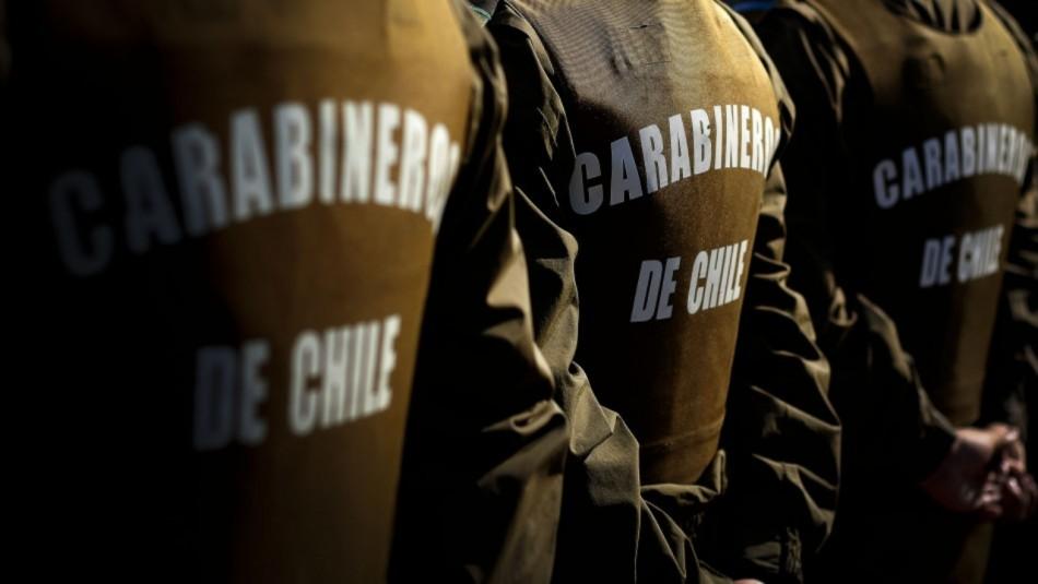 Balean a Carabinero tras persecución en San Bernardo: Incautaron armamento y munición de guerra