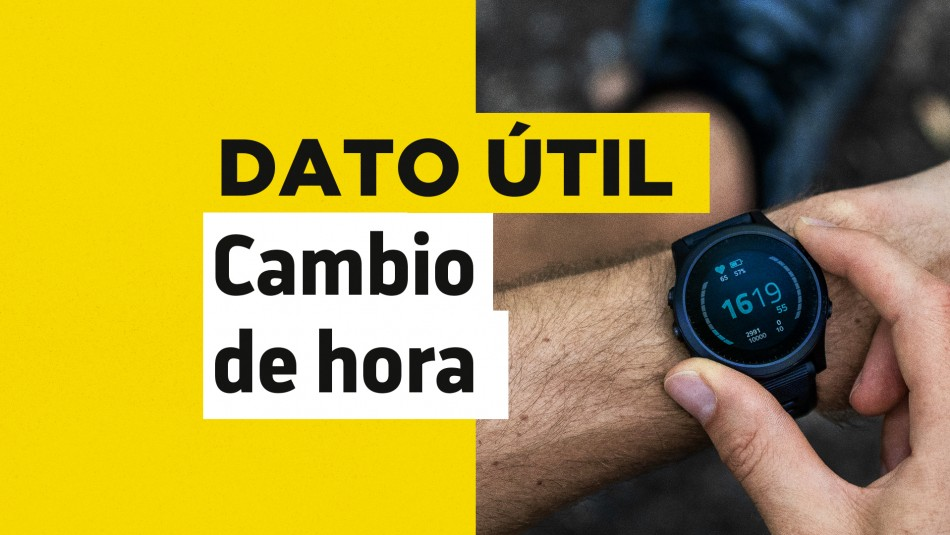 ¿Cuándo se realiza el cambio de hora en Chile?