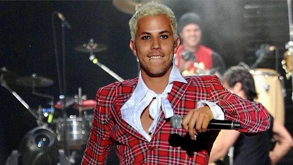 El look drag queen de Christian Chávez: Ex RBD se transformó con peluca rosa, pestañas y maquillaje