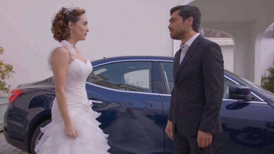 #PobreNovio: Así encaró Santiago a Pamela tras haberlo dejado plantado