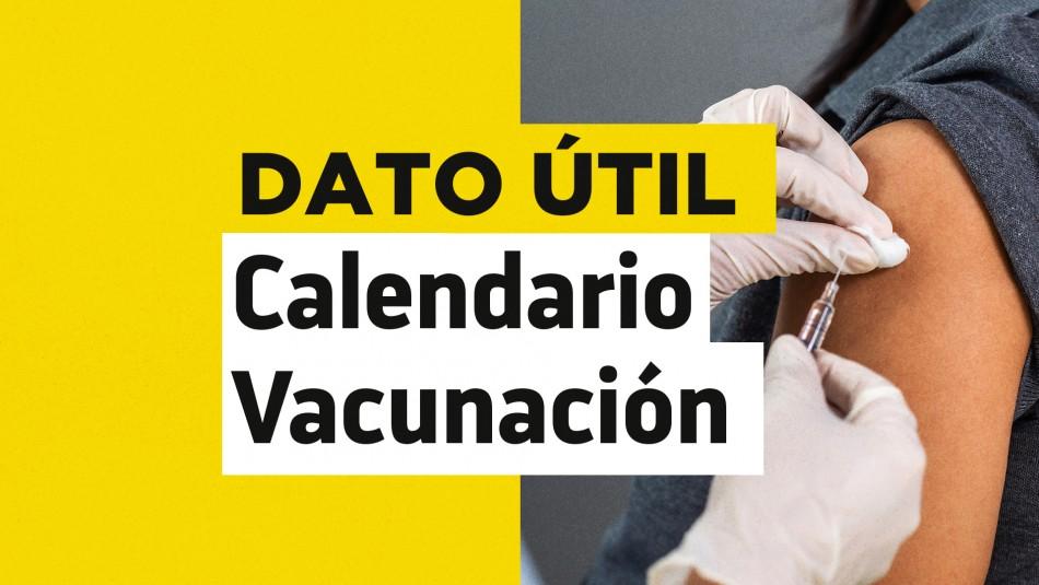 Dosis de refuerzo: ¿Quiénes reciben la vacuna este martes 31 de agosto?