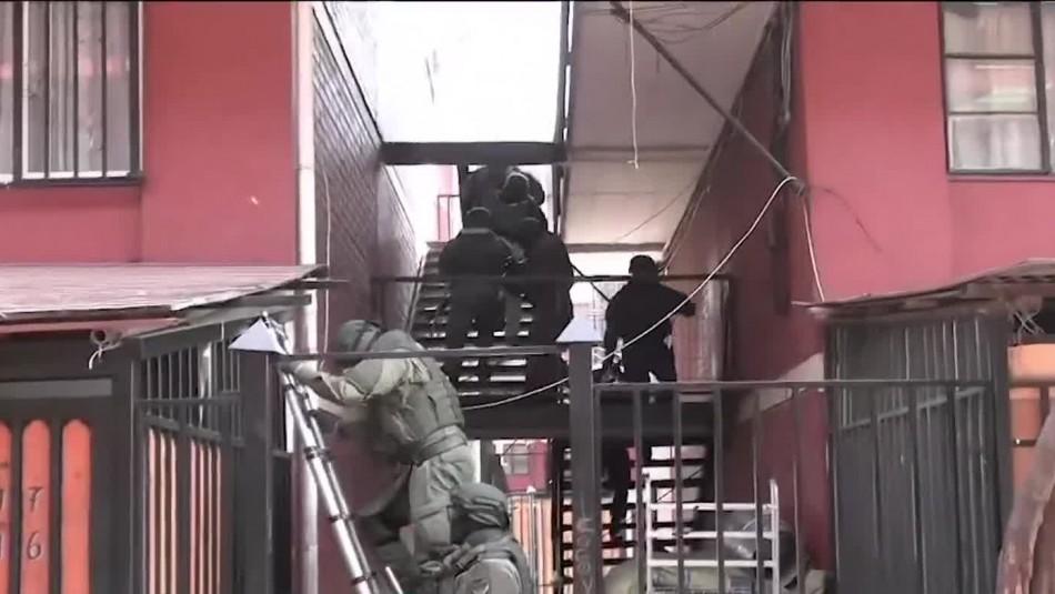 Desarticulan clan familiar dedicado al narcotráfico: Tenían un laboratorio de drogas en un domicilio
