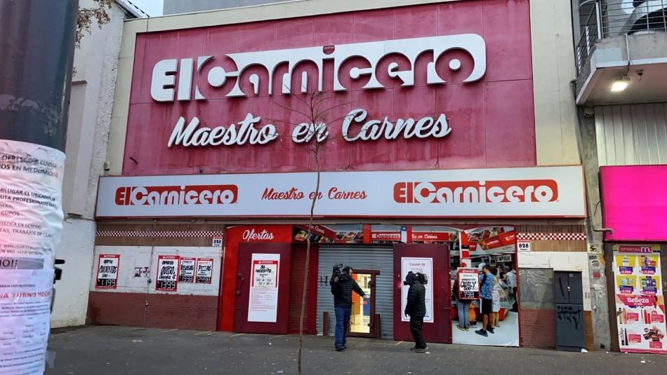 Intento de robo en carnicería de Santiago: Cinco personas fueron detenidas y cuatro lograron huir