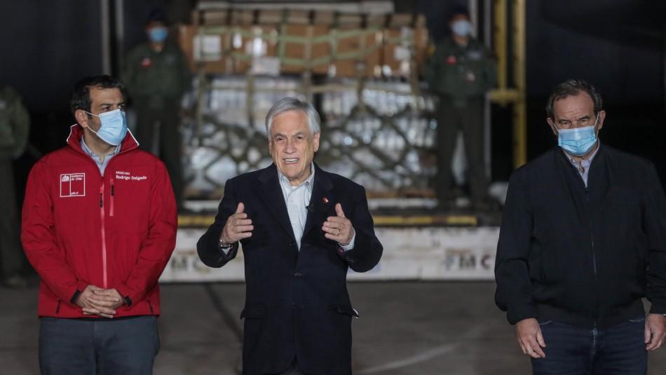 Presidente Piñera anunció envío de ayuda humanitaria a Haití: