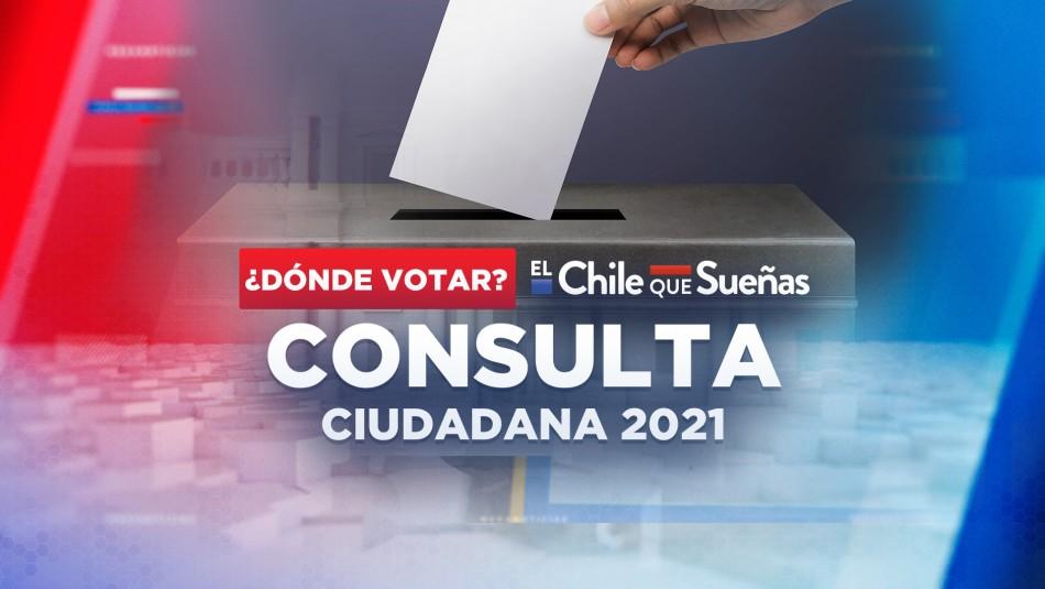Dónde votar en la Consulta Ciudadana 2021 de este sábado 21 de agosto