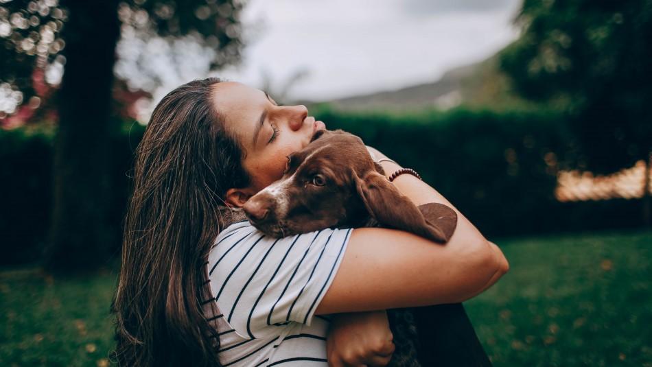 Lo dice la ciencia: Estudio asegura que abrazar perros es bueno para la salud