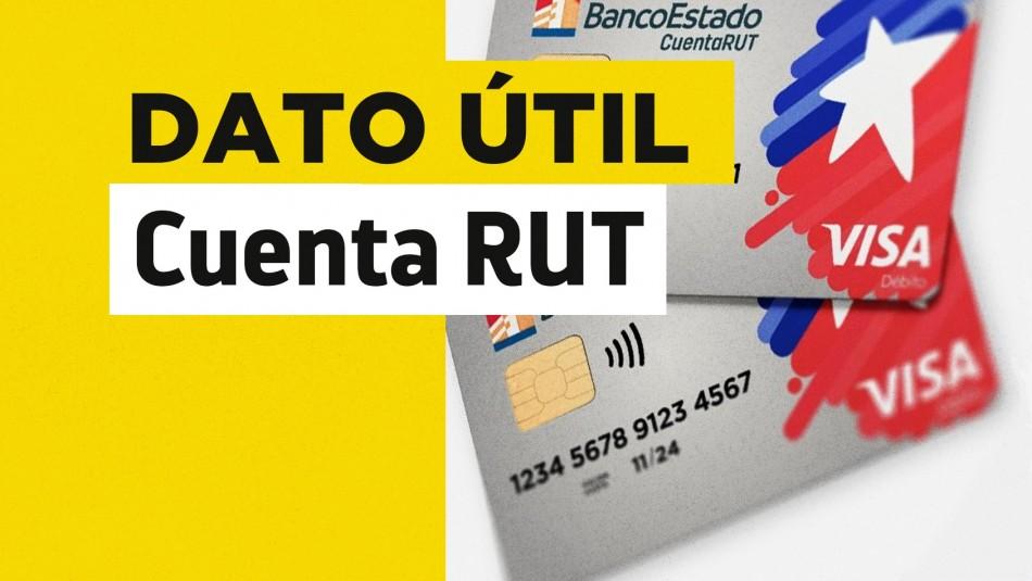 Quiénes deben renovar la Cuenta RUT despacho a domicilio