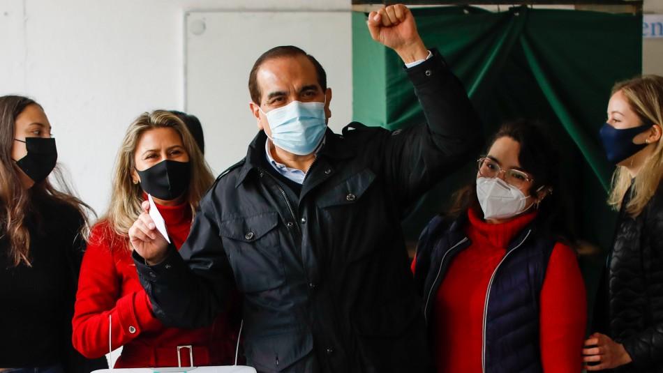 Carlos Maldonado tras votar en Consulta Ciudadana: