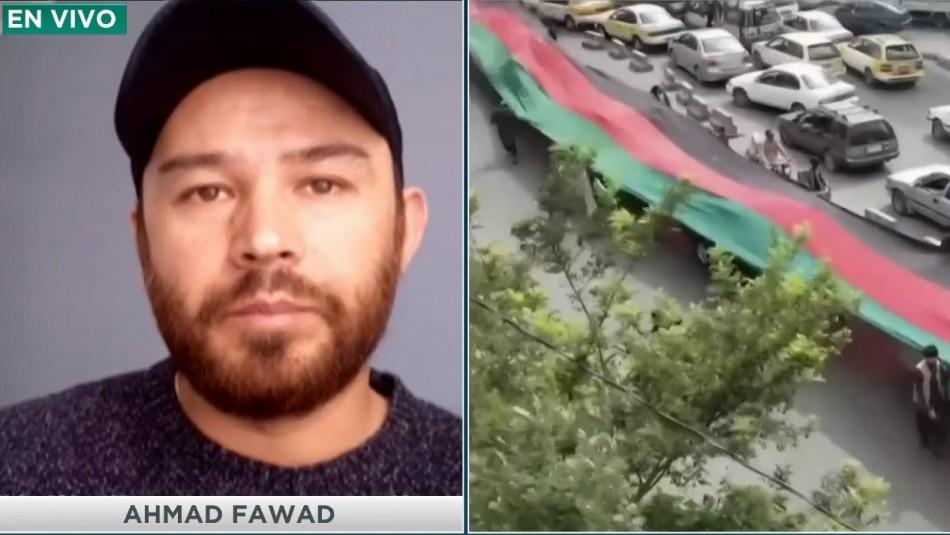 Afgano en Chile contó drama de su familia en Kabul: