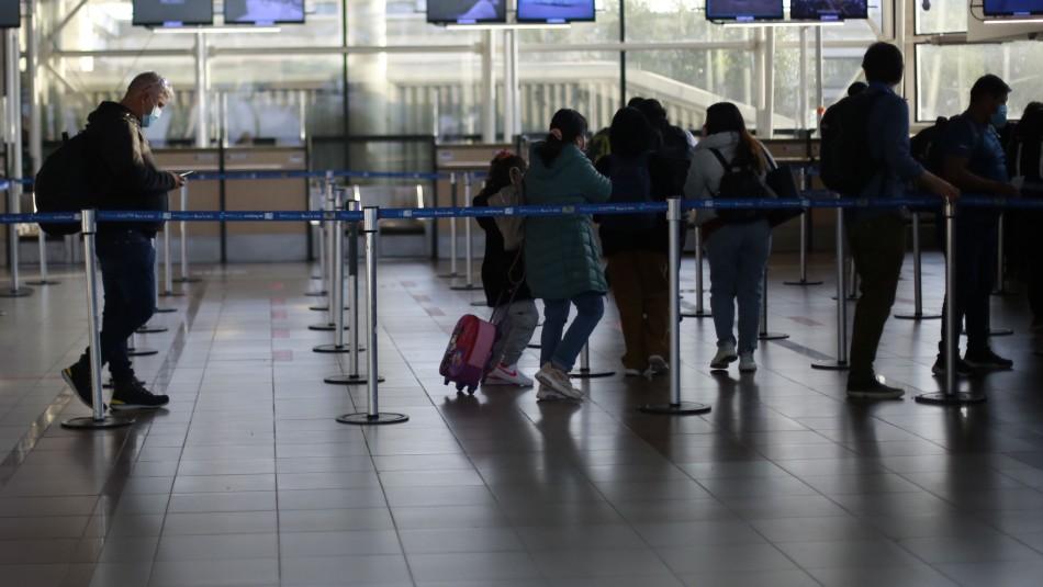 Cuarentena para viajeros disminuye de 10 a 7 días desde el 1 de septiembre