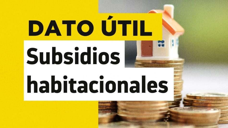 Subsidio DS1 Clase Media valor de vivienda