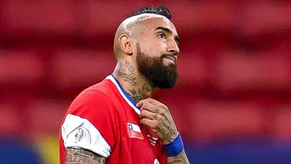 Arturo Vidal lamenta posible ausencia de seleccionados que juegan en Inglaterra y España