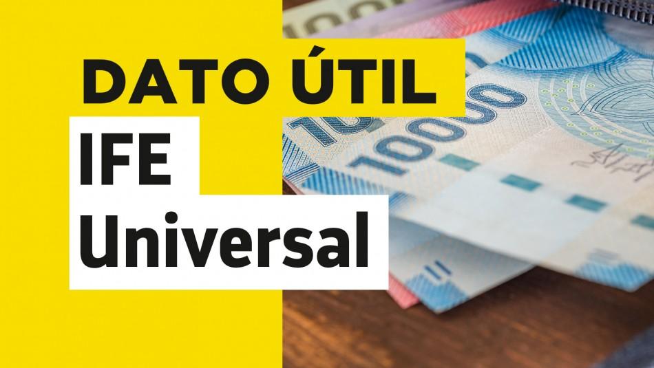 IFE Universal montos totales hasta diciembre
