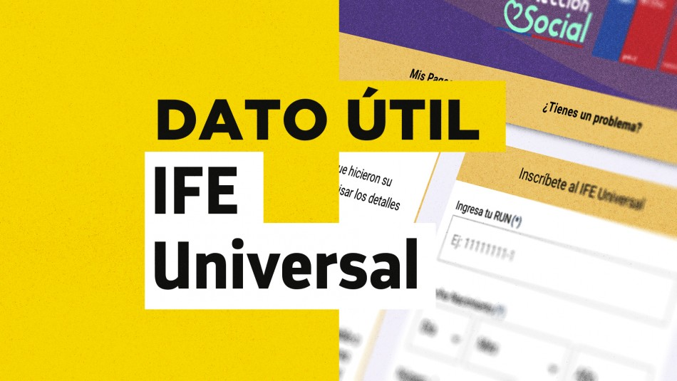 Fecha de pago IFE Universal agosto