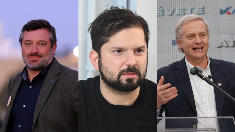 Sichel, Boric y Kast piden al Gobierno poner fin al toque de queda
