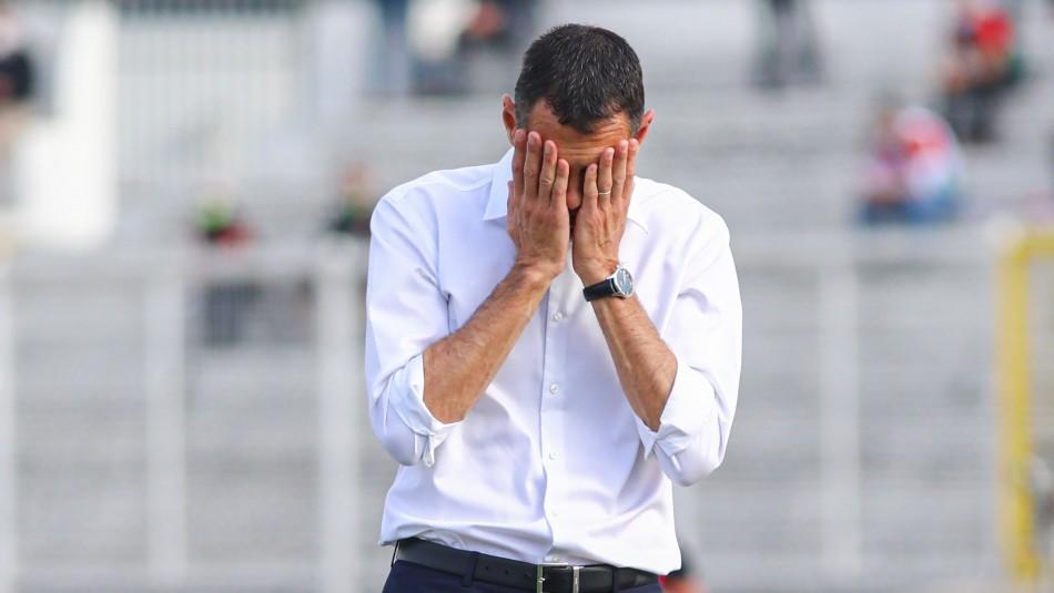 La UC pierde con Palestino y se le suman más problemas al DT Gustavo Poyet: Mira la tabla de posiciones