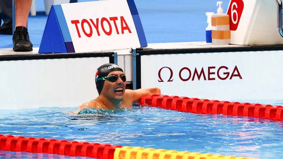 Alberto Abarza clasifica con el segundo mejor tiempo a la final de los 200 metros libres en Tokio 2020