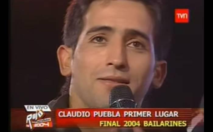 Claudio Puebla cuando ganó