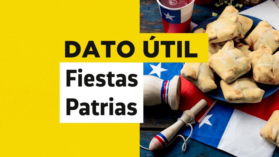 aforos fiestas patrias santiago
