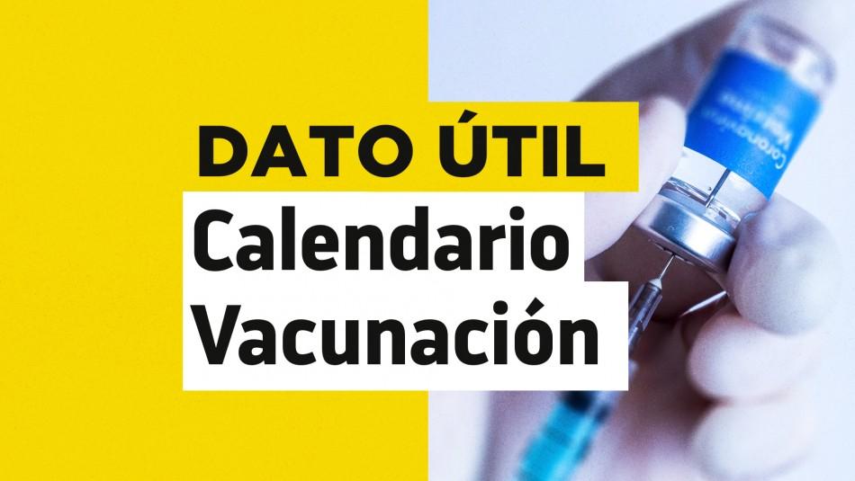 Calendario de vacunación Covid: ¿Quiénes reciben la dosis este jueves 2 de septiembre?
