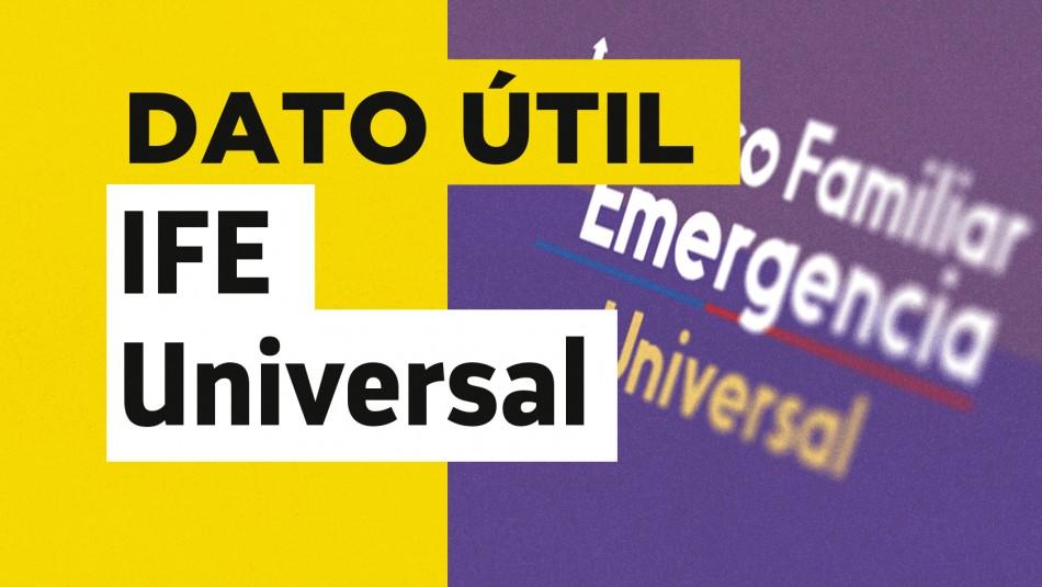 Fecha de pago IFE Universal de septiembre
