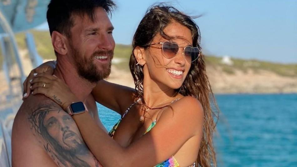 La polémica que envuelve a un periodista y Antonella Roccuzzo, esposa de Lionel Messi