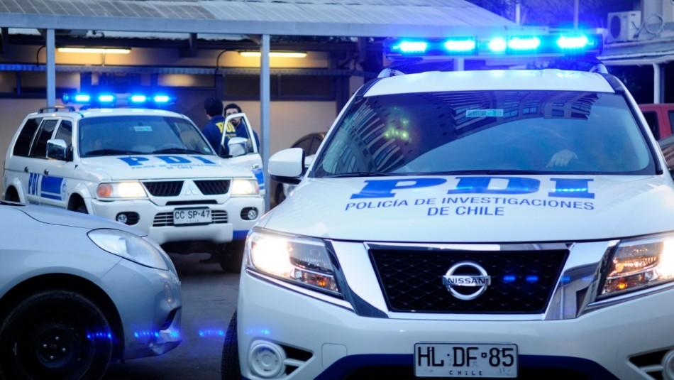 PDI investiga femicidio en Curanipe: Sujeto le disparó a una mujer y posteriormente se dio a la fuga