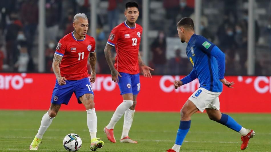 Chile no pudo ante Brasil y perdió en casa por Clasificatorias Sudamericanas