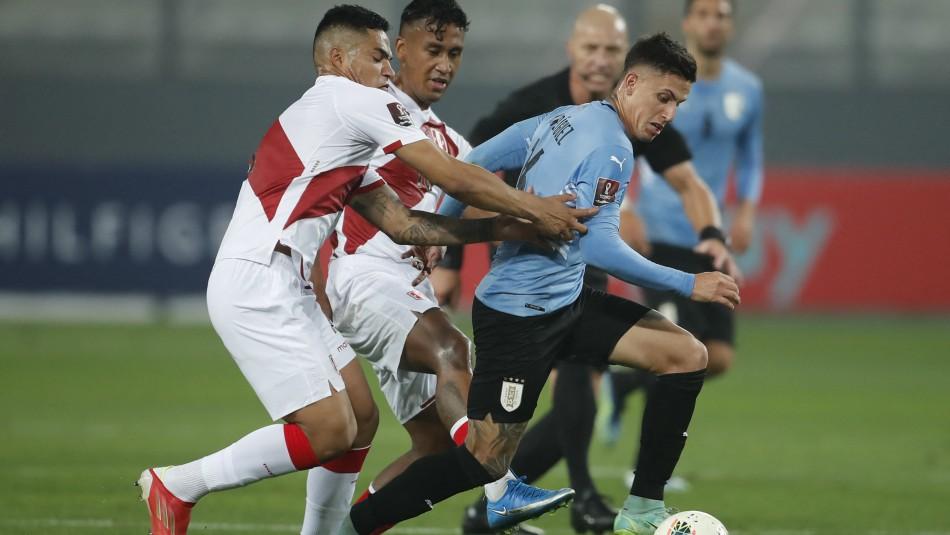 Clasificatorias: Perú y Uruguay igualan en ajustado partido disputado en Lima