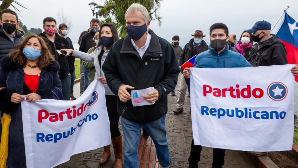 Partido Republicano apelará al Tricel por candidaturas rechazadas por el Servel