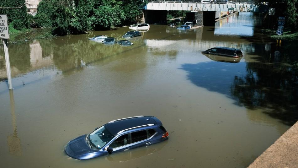 Confirman muerte de chilena en Nueva Jersey en medio de huracán Ida