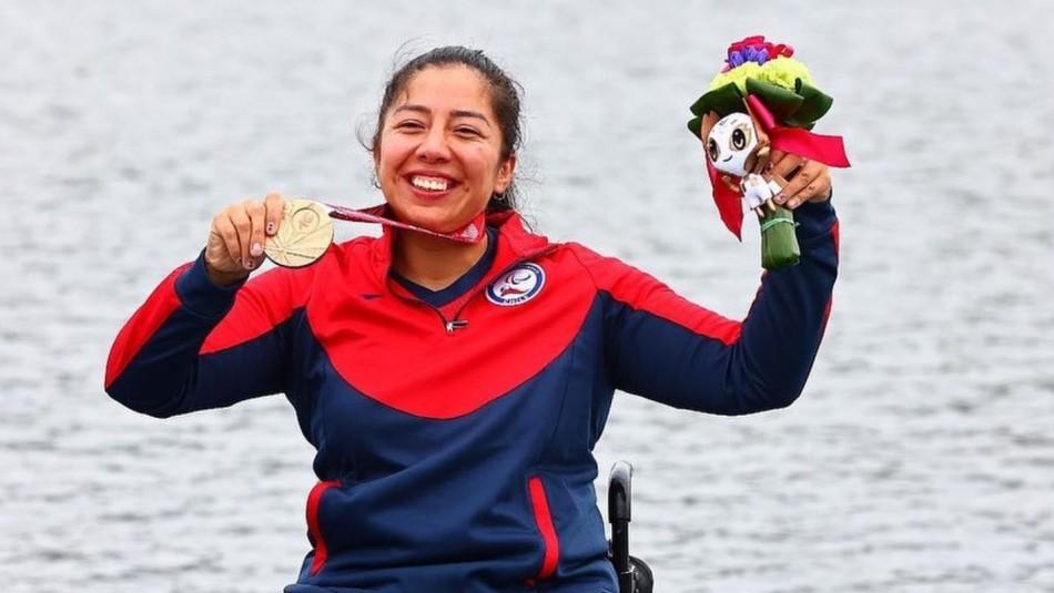Paralímpicos: Chilena Katherinne Wollermann ganó el bronce en canotaje