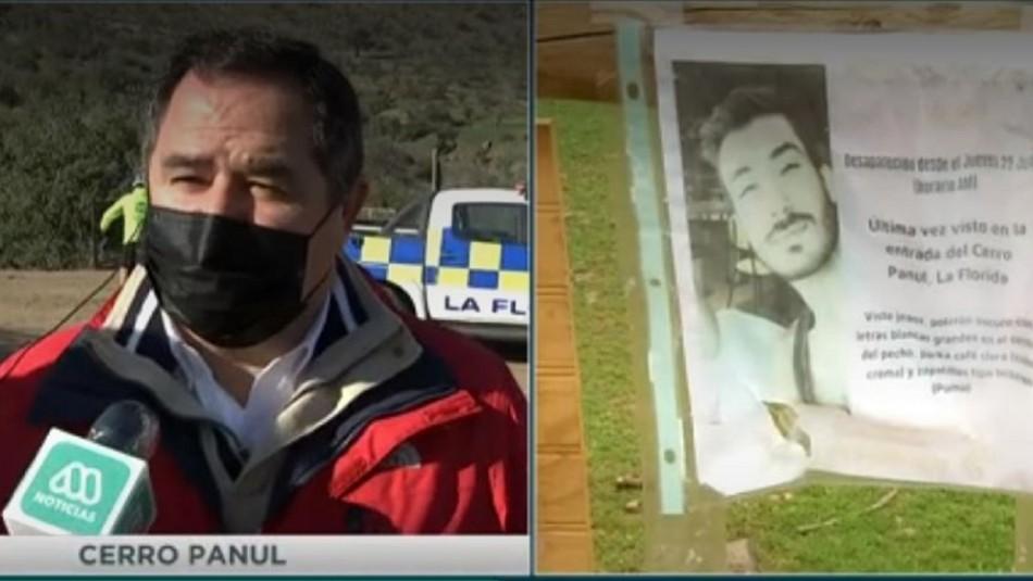 Joven perdido en cerro Panul: Familia denuncia nulo apoyo de las autoridades en la búsqueda