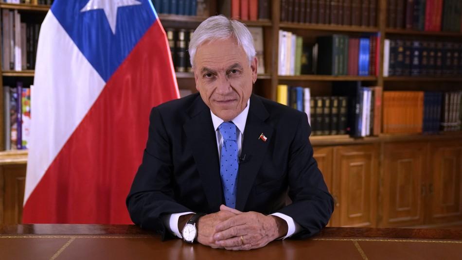 Piñera anuncia proyecto que extiende el Pilar Solidario al 80% de la población y aumenta la pensión