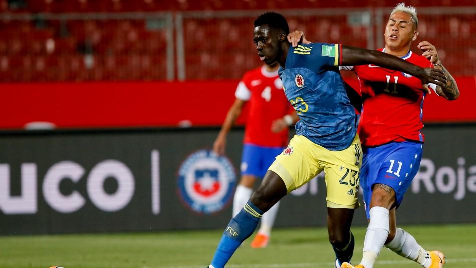 Sufre Rueda: Colombia no contará con sus dos defensores titulares ante Chile