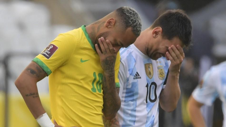 Suspensión Brasil vs Argentina: Expectación por la decisión que tomará FIFA