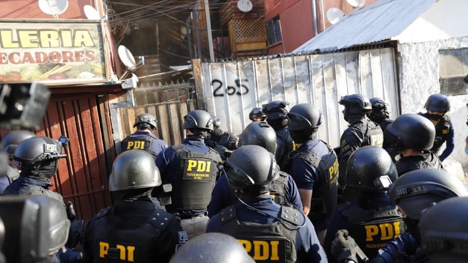 Amplio operativo antidroga deja 12 detenidos e incautaciones por más de $50 millones en Quilicura