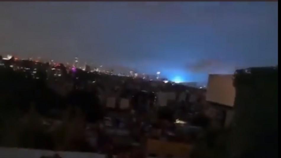 La explicación tras los destellos azules que se vieron durante terremoto en México