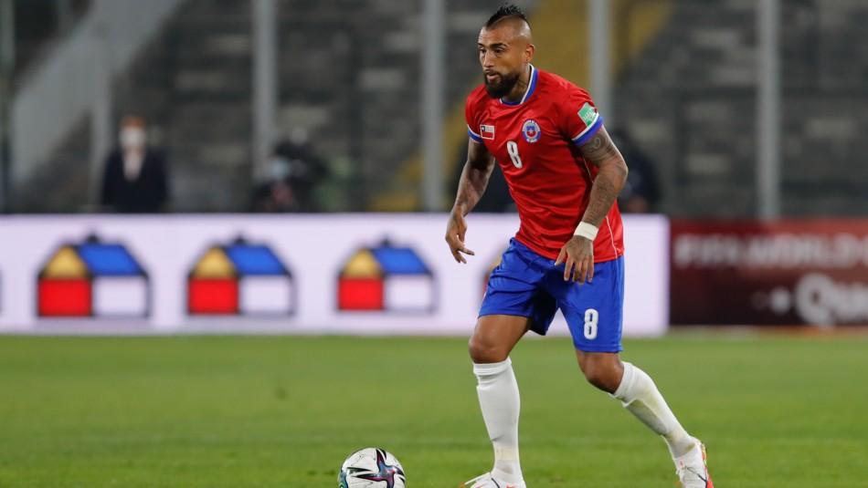 Arturo Vidal Selección chilena formación