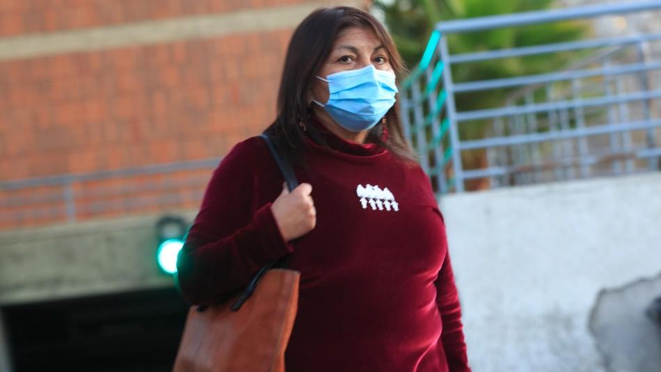 Elisa Loncon por investigación tras denuncia contra Rojas Vade: