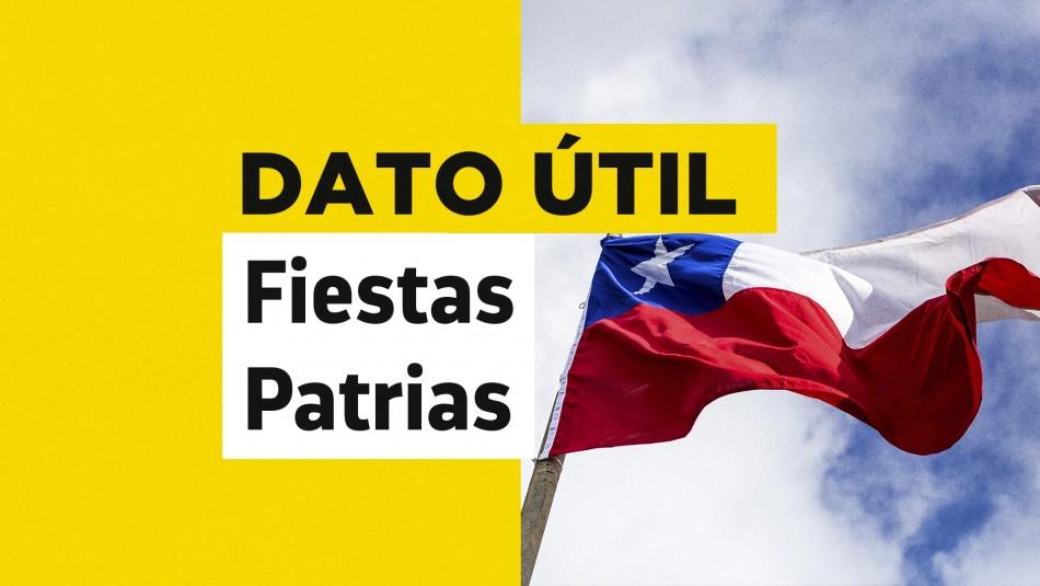 fiestas patrias bandera