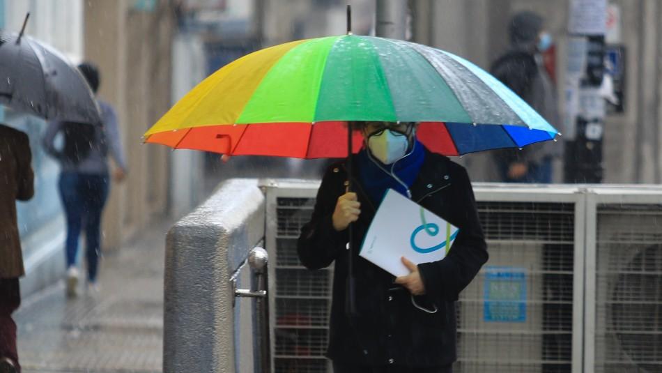 Lluvia en Santiago: sábado y domingo nuevamente habrá precipitaciones