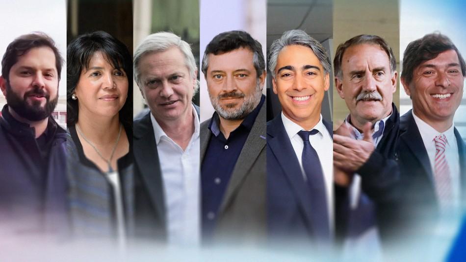 Declaración de patrimonio candidatos presidenciales