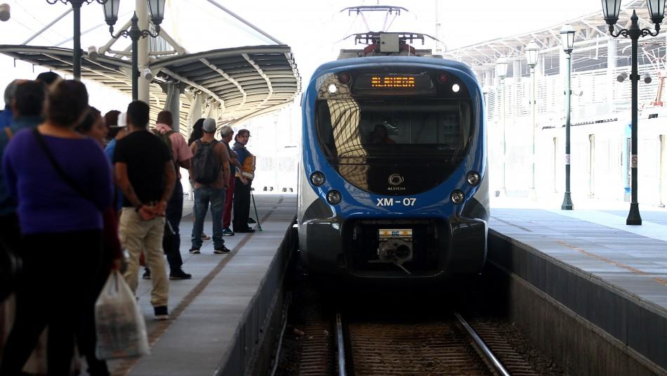 Nuevo tren Santiago-Melipilla: ¿Cuáles serán los tiempos de viaje?