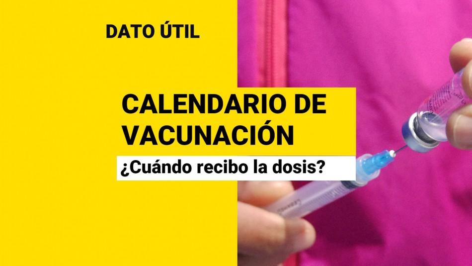 Calendario de vacunación Covid: ¿Quiénes reciben la dosis este lunes 20 de septiembre?